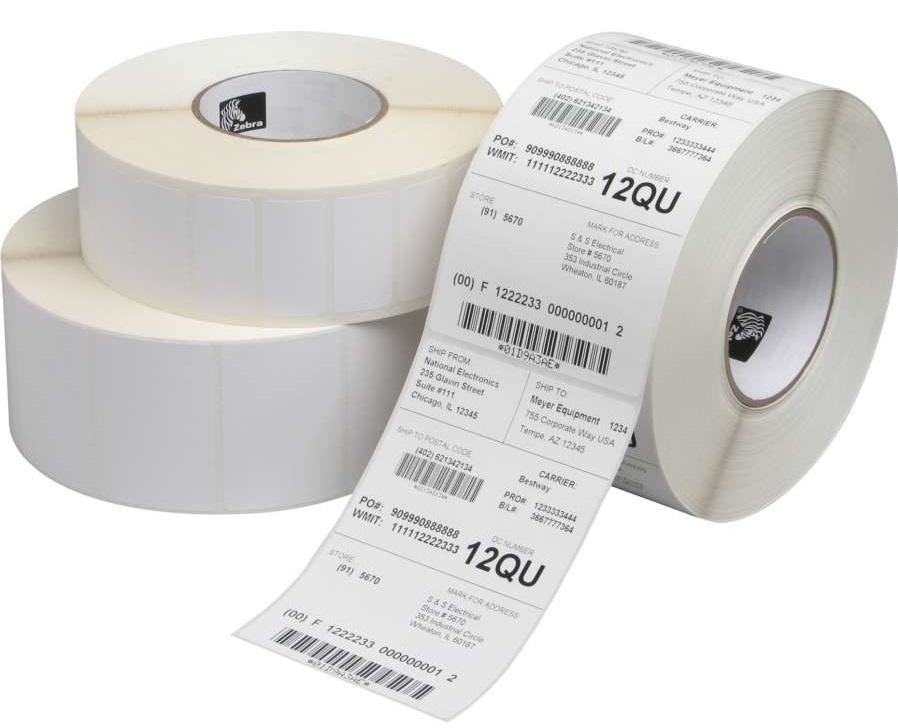 کاغذ لیبل چسبی