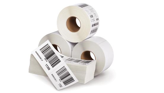 لیبل کاغذی رول
